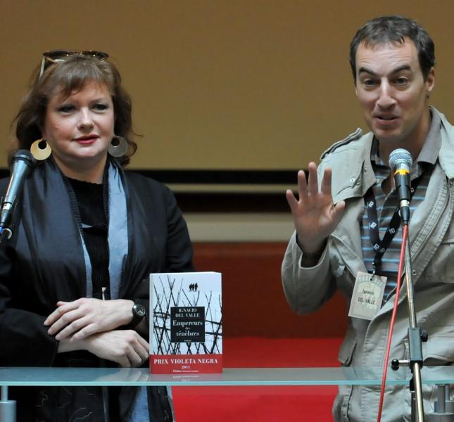 Catherine Jacob et Ignacio del Valle./Photo DDM, Frédéric Charmeux