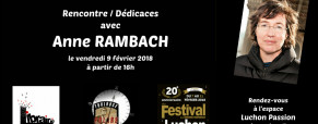 Anne Rambach à l'Espace Luchon Passion le vendredi 9 février à 16h